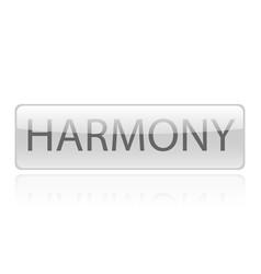 Harmony word design vector