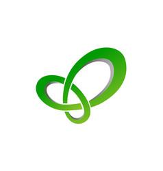 network logo design template vector image