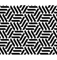 seamless geometric pattern Opt Art vector image