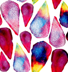 Watercolor drops art seamless pattern vector