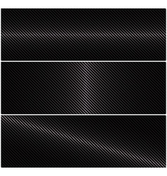 3 abstract horizontal banner with metal grid on a vector image