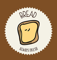 bread design vector image