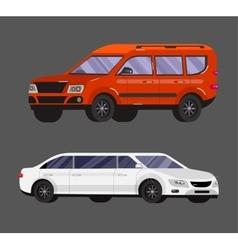 Stylish Retro Car vector image