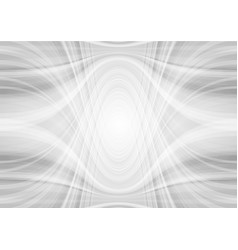 abstract light grey tech wavy pattern background vector image