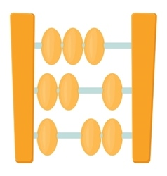 Abacus icon cartoon style vector