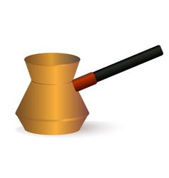 coffee turk vector image