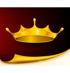 Golden Crown vector