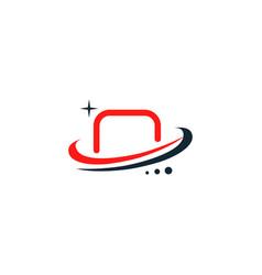 hockey gates logo football logo vector image