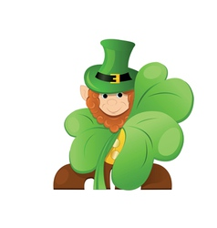 leprechaun or gnome vector image