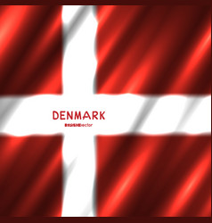 national denmark flag background vector image