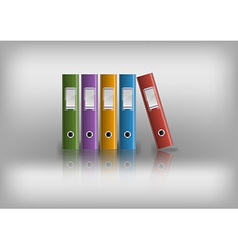 office files grey vector image