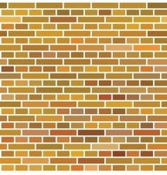 Red brown brick wall seamless background vector