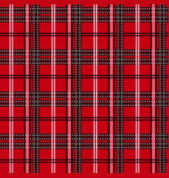 Tartan plaid seamless pattern wallpaperwrapping vector