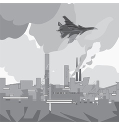 Jet Attacks vector image