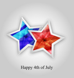 4th of july usa independece day vector