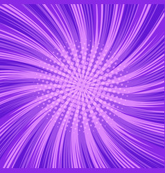 Comic abstract purple background vector