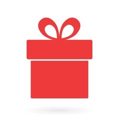 present box icon vector image