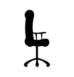 single chair icon image vector image