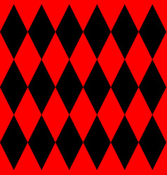 Tile black and red background pattern vector