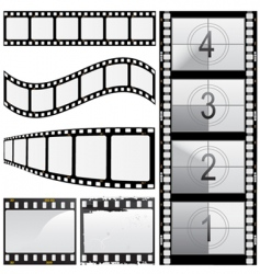 set of film vector image vector image