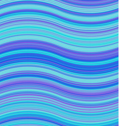 Blue colored abstract wave background design vector