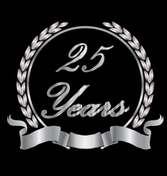 25 years vector image