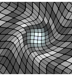 abstract gray mosaic background vector image