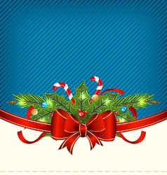 Christmas holiday packing ornamental design vector