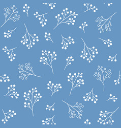 Floral seamless pattern fabric print design vector