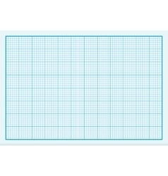 Graph Paper Background Design Flat vector