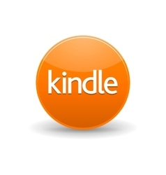 Kindle icon in simple style vector