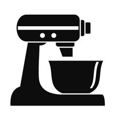 machine mixer icon simple style vector image
