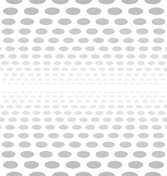 Pale seamless 3d circle background vector