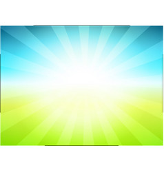 rural landscape background vector image