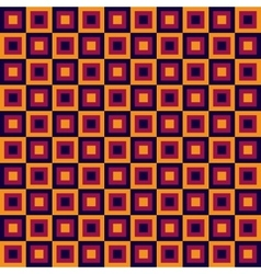 Seamless geometric pattern with squares vector