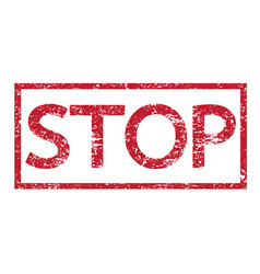 stamps word stop vector image