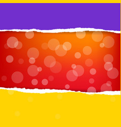 color poster vector image