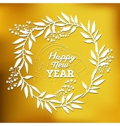 motivational message new year vector image