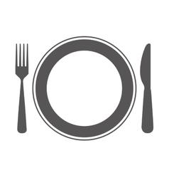 cutlerty icon design vector image