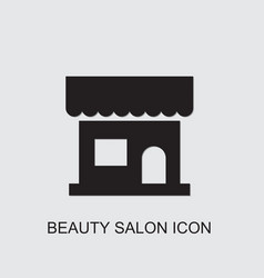 Beauty salon icon vector