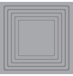 Concentric Grey 6 Square Background vector