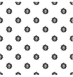 Fire explosion pattern vector