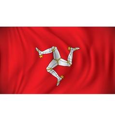 Flag of Isle of Man vector