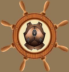 Icon pirate cuirass02 vector