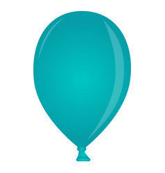 isolated party balloon vector image