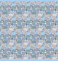 Pattern of pebbles vector