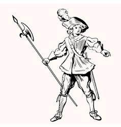 Pikeman vector image