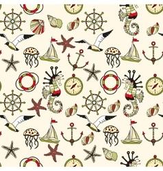 Sea theme vector