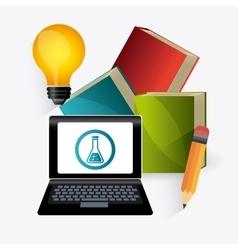 Student graduation design vector image