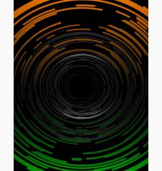 technological spirals vector image